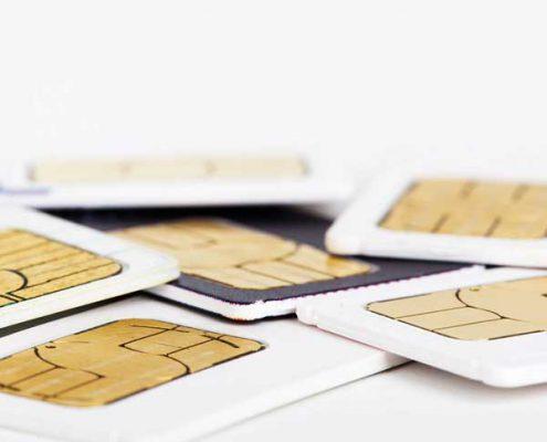 SIM-Karten PVD